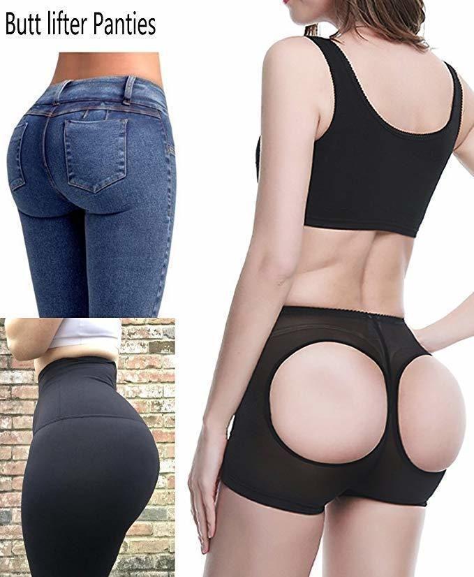 db86d7a31ba1 Women's Hot Sale Butt Lift Shaper Butt Lifter With Tummy Control Female  Booty Lifter Panties Sexy Shapewear Underwear