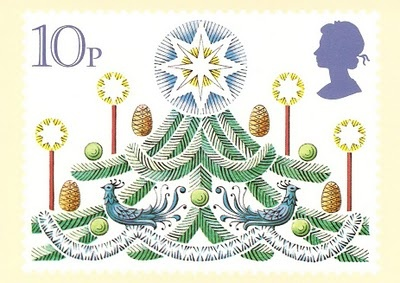 ♥ ◙ UK, Christmas Postage Stamp. ◙