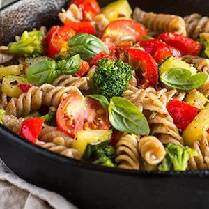 Veggie pasta: liviana y deliciosa