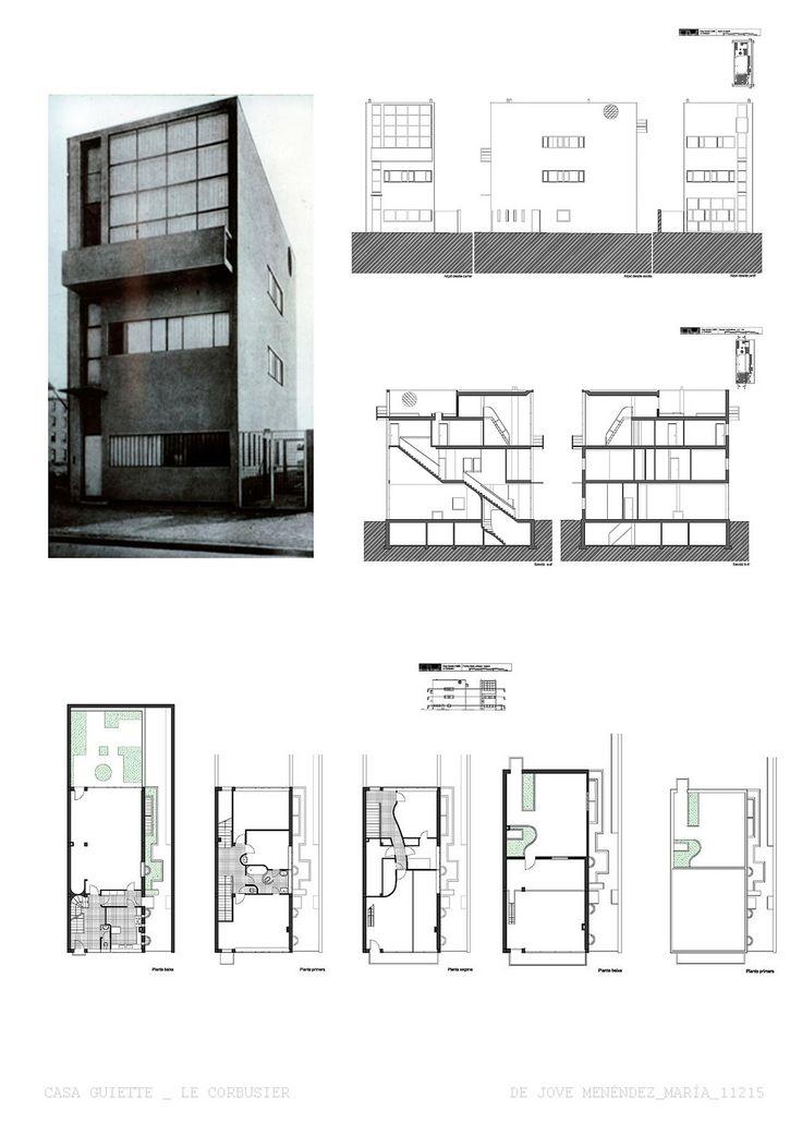 maison guiette le corbusier antu rpia b lgica 1925 restauro e extens o por george baines. Black Bedroom Furniture Sets. Home Design Ideas