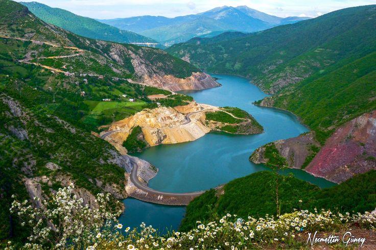 Topçam Baraj Göleti Mesudiye/Ordu  Necmettin Güney