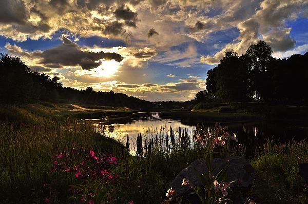 http://fineartamerica.com/featured/summer-evening-in-arboga-stefan-pettersson.html