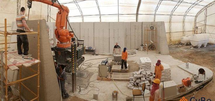 Dutch company 3-D prints drone research lab in Dubai | Construction Dive
