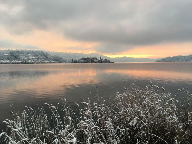 Lake Orta and Isola di San Giulio - Italy
