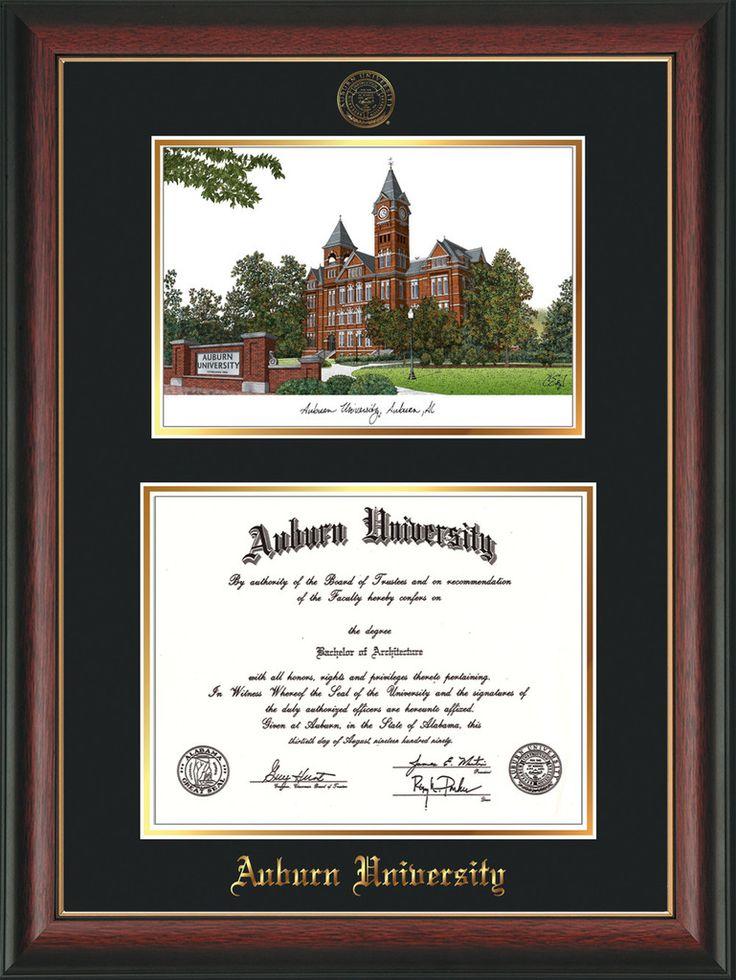 Mejores 99 imágenes de Auburn University Diploma Frames and AU ...