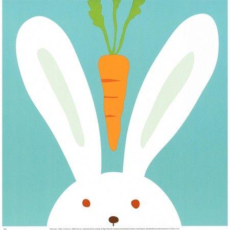 Art.com - Peek-a-Boo I Rabbit : Target