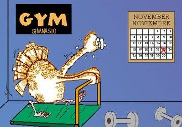 Pre-Thanksgiving workout