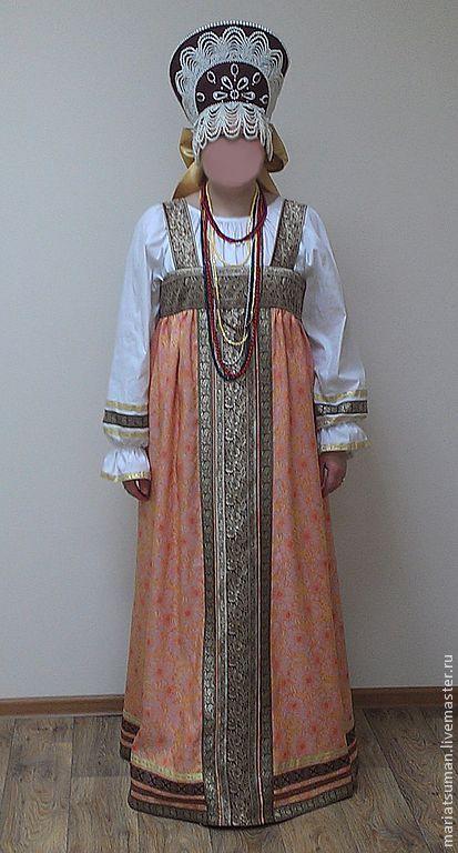 Сценический костюм - орнамент,сценический костюм,русский стиль,русский народный костюм