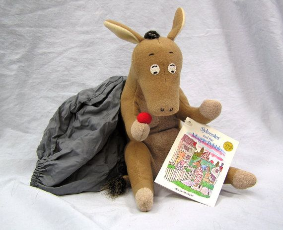 Vintage 1969 Sylvester And The Magic Pebble Stuffed Animal