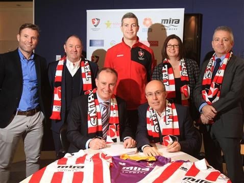 We're  delighted to reveal that we have extended our sponsorship deal with Cheltenham Town FC and will continue as the Main Club Sponsor for the next two seasons.