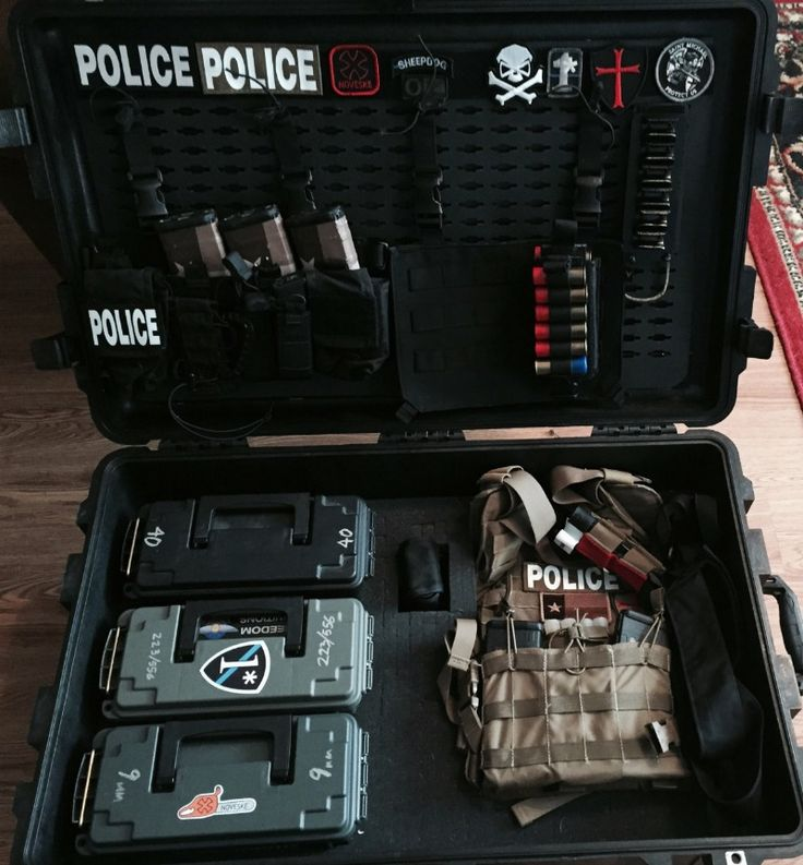 Tactical Load Out Pelican Lid Organizer