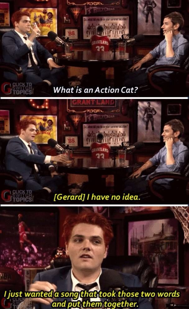 I love Gerard Way. Can he be my older brother?