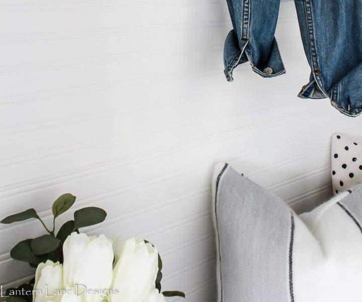 How To Install Beadboard Wallpaper To Give It A More Modern Look I Also Listed A Few Other Things You C Beadboard Wallpaper How To Install Beadboard Beadboard