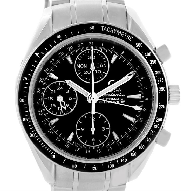 Omega Speedmaster Day Date Automatic Mens Watch 3220.50.00