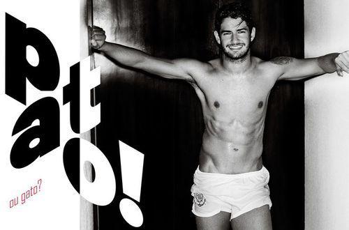 Brazilian Soccer Player Alex Pato from the São Paulo's Corinthians by Mario Testino for Vogue Brazil June 2013
