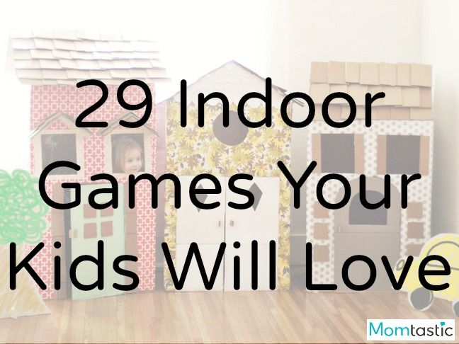 29 Incredibly fun indoor gams your kids will love via @ItsMomtastic | rainy days | kids activities | DIY fun
