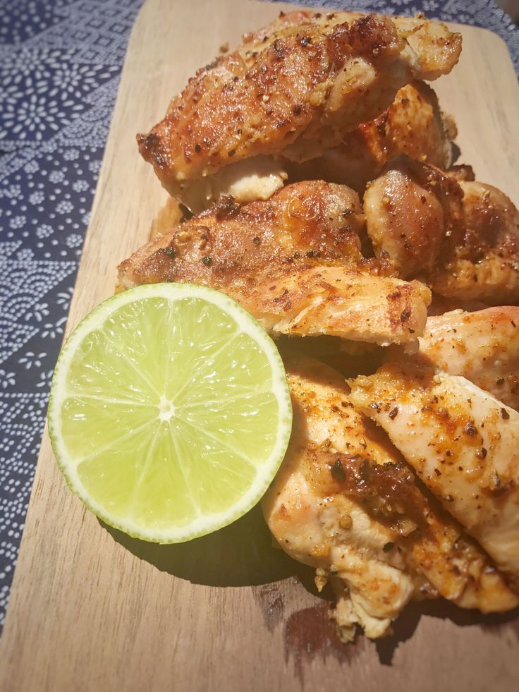 Sticky Cayenne and Lime Chicken