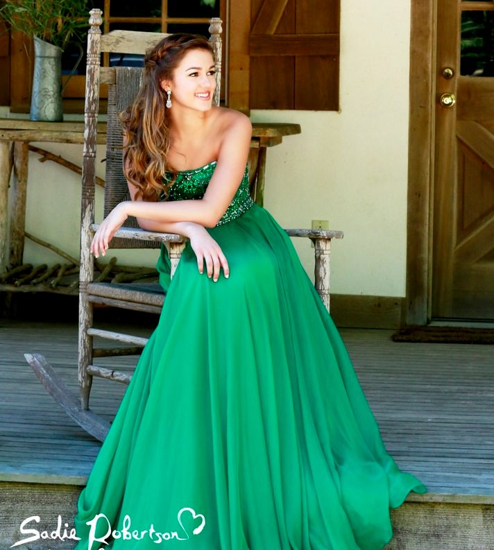 Sadie Robertson Prom Dress
