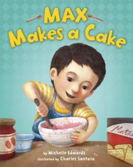 Baby sisters can be so annoying! That's what Max thinks. Max needs his daddy's help—right now!—to bake a surprise Passover birthday cake for his mommy. But as baby Trudy fusses instead of napping, and Daddy tries to settle her down, their time to bake is slipping away. With her warm and pithy storytelling, Michelle Edwards captures the moment in a child's life when he realizes that he has the power to do things on his own.
