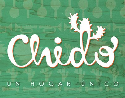 """Check out new work on my @Behance portfolio: """"Chido"""" http://be.net/gallery/36655069/Chido"""