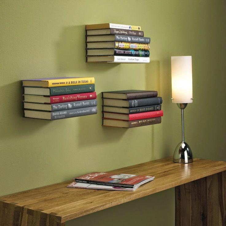 Best 25+ Unique bookshelves ideas on Pinterest | Dvd wall shelf, Creative  bookshelves and DIY bookshelf wall