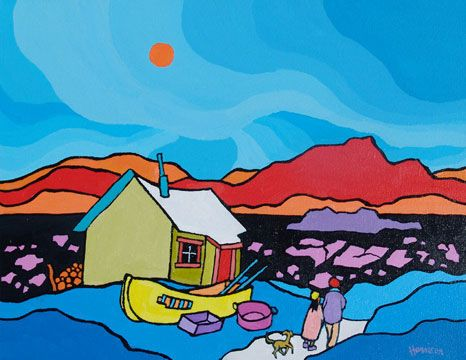 ted harrison paintings - Google Search