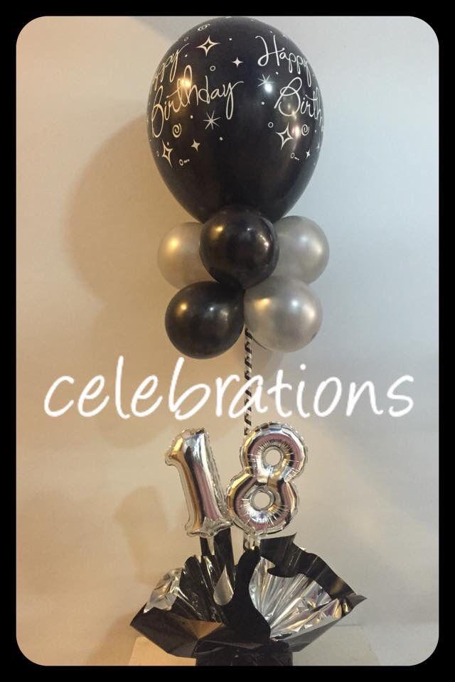 "11"" 18th birthday topiary  #18thbirthday #birthday  #decorations #balloons #partyshop Http://www.celebrationsnsw.com"