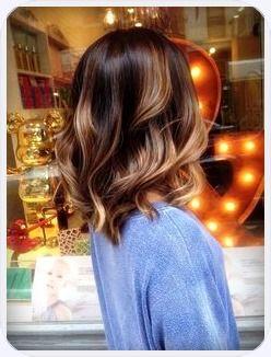 Haarfarben trends 2018 balayage