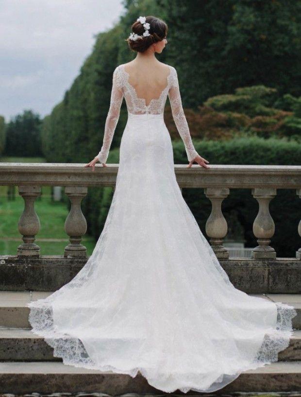 Elegantes Vestidos de Novia de diseño moderno - Bodas