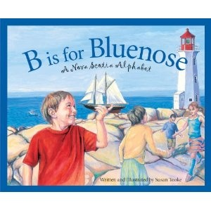 B is for Bluenose: Nova Scotia - to read aloud for Canada Quilt Project