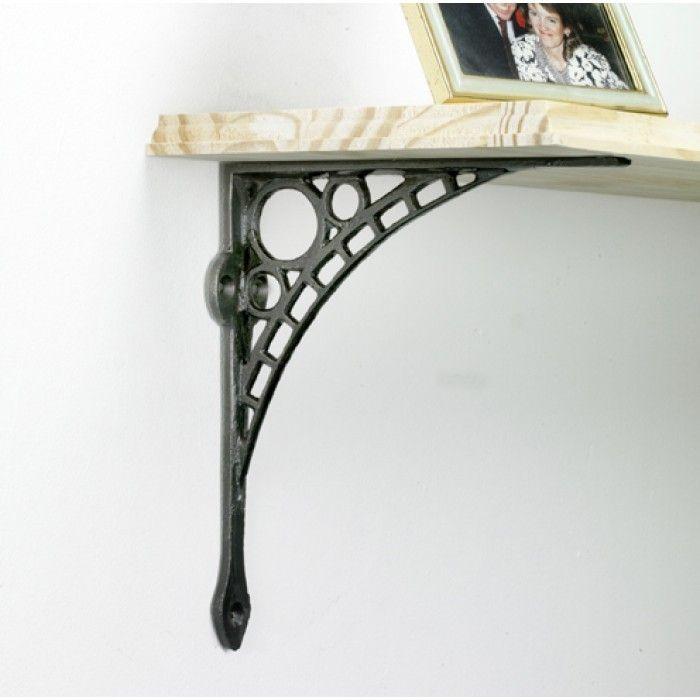 bridge iron shelf brackets black country metalworks ltd