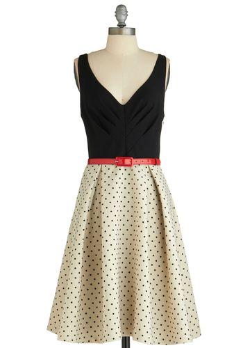 What a Debut Dress ~ ModCloth