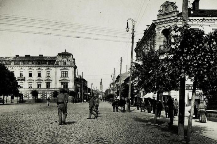 01915 Square of Constitution of 3 May in Radom (1915) - Radom – Wikipedia, wolna encyklopedia
