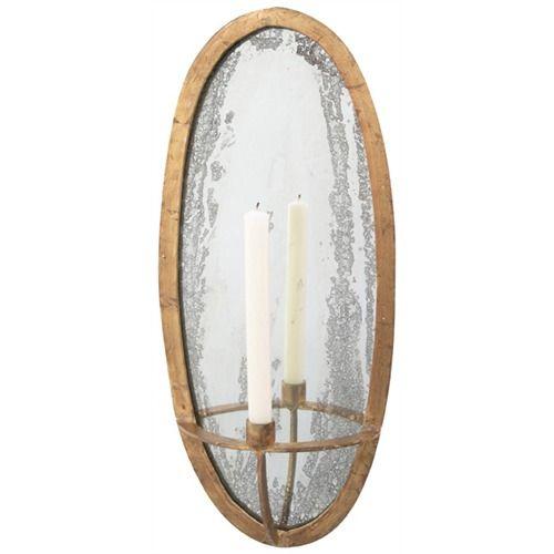 Agatha Oval SconceLights, Dining Room, Agatha Oval, Oval Mirrors, Agatha Sconces, Mirrors Tapered, Iron Mirrors, Tapered Sconces, Candles Sconces
