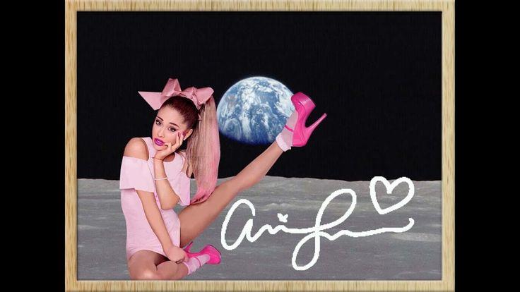 ARIANA GRANDE decorazione murale sexy-dolce! Autografato! NUOVO! Ariana Grande inganna sulla Luna, mentre la Terra si alza all'orizzonte. Firmato da Ariana Grande! Domande? Mandami un SMS: (+ 49-151) 2094-9859 arianagrande, arredamento, regalo, presente, souvenir, memorabilia, da collezione, murale, natale, casa, mobili,