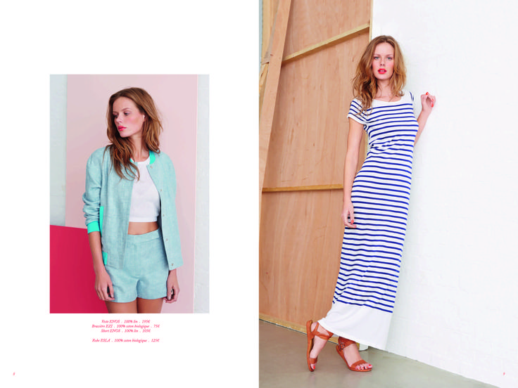Page 5 - Look Book PE14 EKYOG #modepositive #green #spring #summer #collection2014