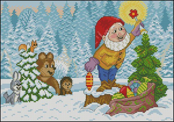 Советские новогодние открытки вышивки, для яны