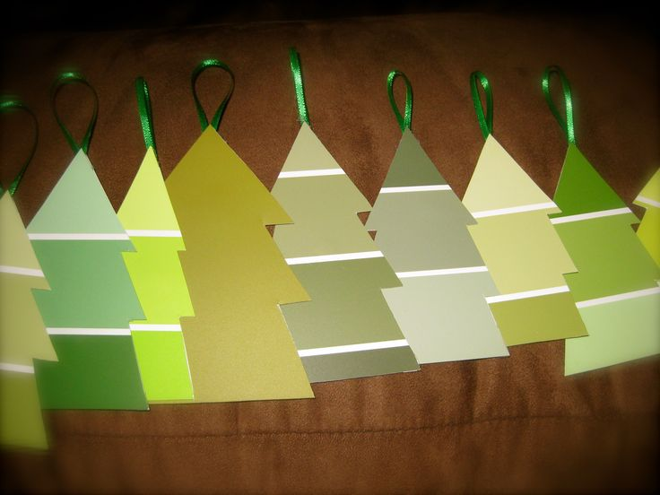 paint chips: Xmas Trees, Color Christmas Trees, Paintings Swatch, Christmas Decor, Gifts Tags, Christmas Garlands, Christmas Trees Ornaments, Paintings Samples, Paintings Chips
