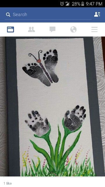 Hands and feet stamping