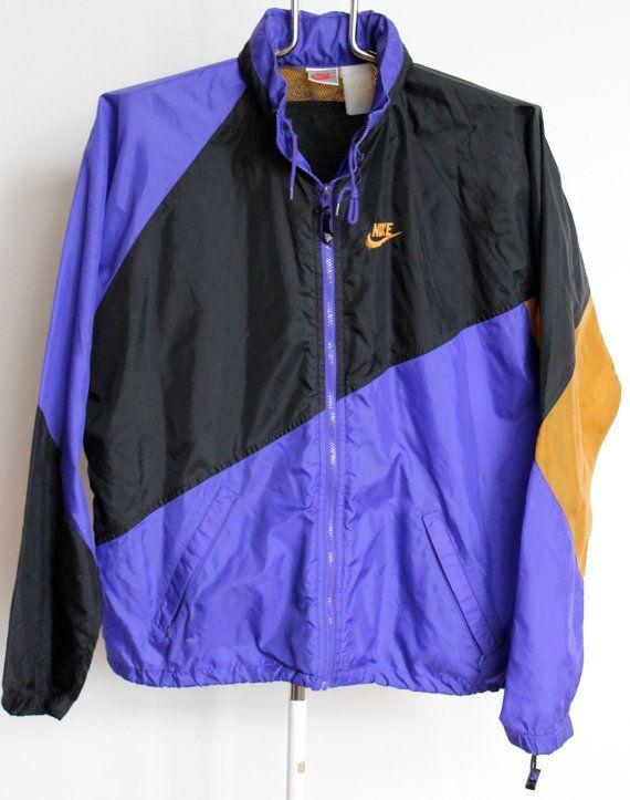 Vintage 90s Nike FIT Tail Wind Unisex Windbreaker Jacket ix6pc