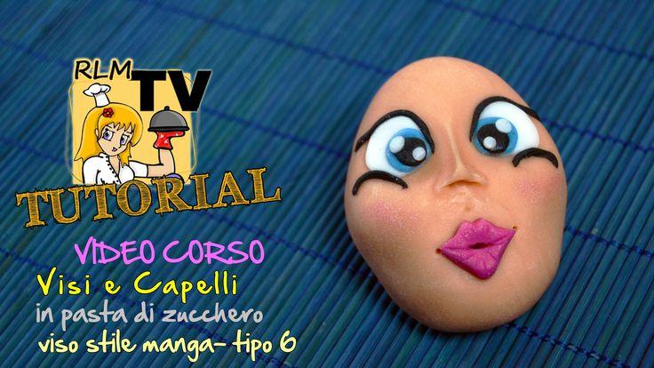 #VIDEO #CORSO: #Visi e #capelli in #pdz - #Viso stile #manga - tipo 6