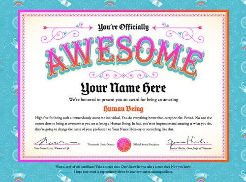 20 best certificates images on Pinterest Award certificates - acknowledgement certificate templates