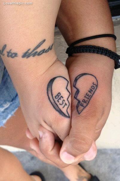 Girls Best Friend Tattoos: 109 Best Best Friend Tattoos Images On Pinterest