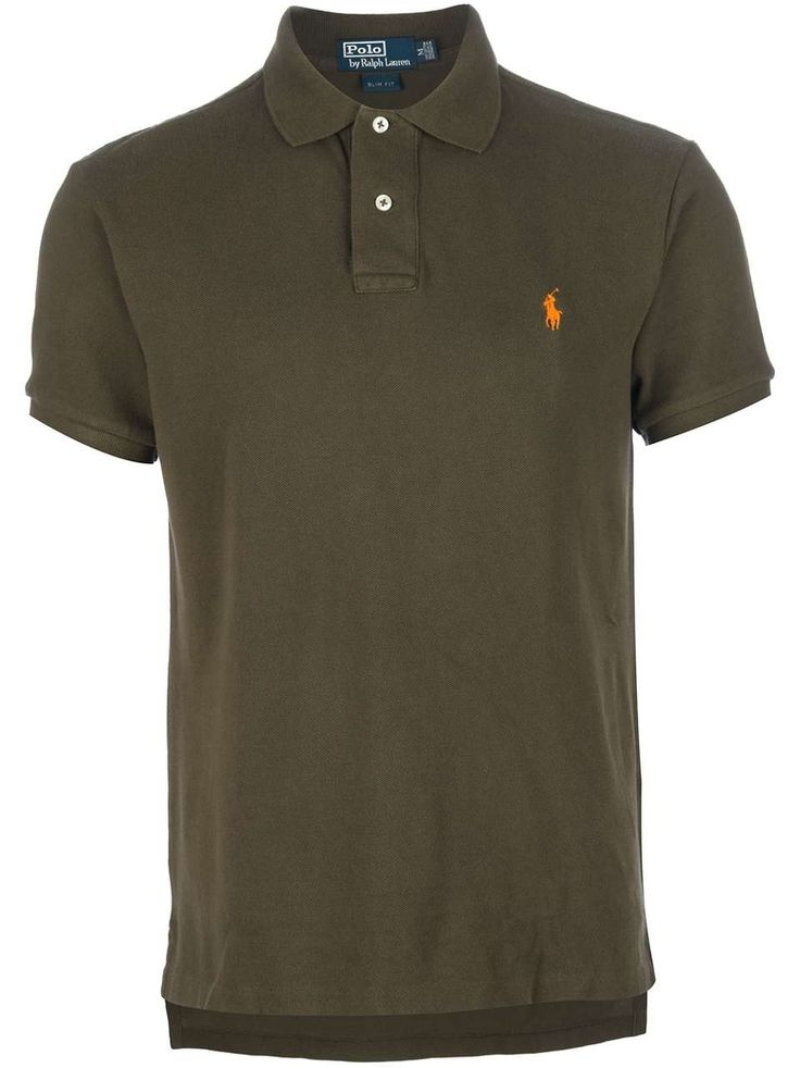 Love the Polo Ralph Lauren 'Weathered' polo shirt on Wantering | Men's Tees | mens military green polo shirt | mens t-shirt | menswear | mens style | mens fashion | wantering http://www.wantering.com/mens-clothing-item/weathered-polo-shirt/abfJH/