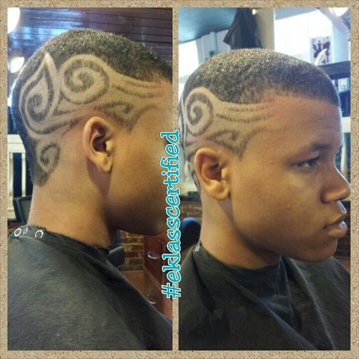 Freestyle Haircut Design Eklasscertified Boys Hair