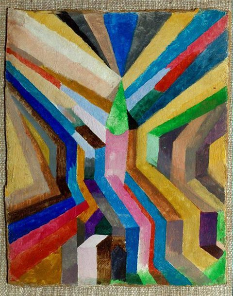Paul Klee - Green Church and Steeple, 1917. Veja também…