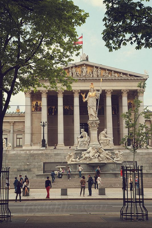 Vienna Parliament building