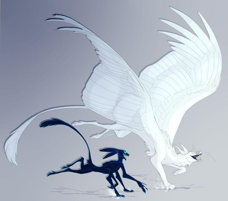 Картинки мифических существ с крыльями