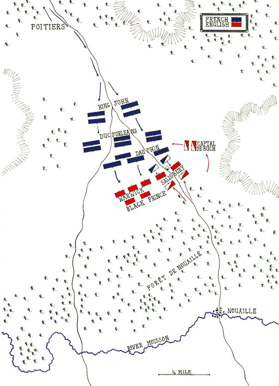 Battle of Poitiers: may by John Fawkes