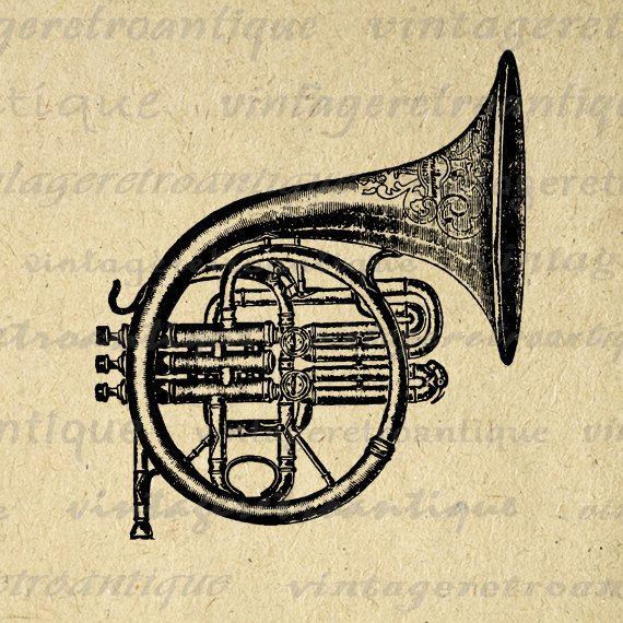 vintage artes horn